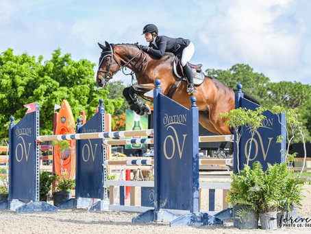 Hailey Royce Rides to Her First Grand Prix Win at Fox Lea Farm