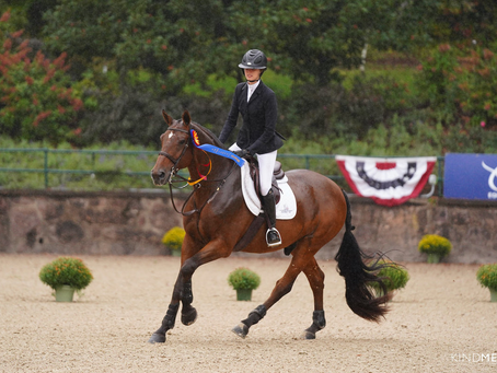 How Natalie Jayne Gave Heritage Farm its 11th USEF Show Jumping Talent Search Finals - East Victory