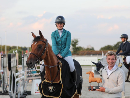 Emma Butchard and Andre Nagata Earn Their Success with Hard Work in Panningen, The Netherlands