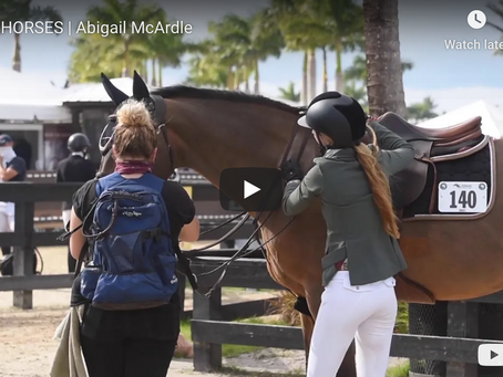 Abigail McArdle: Epitomizing Success By Hard Work in For Horses