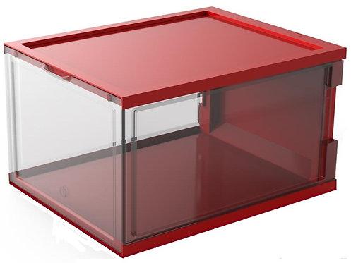 SUPERBOX: RED-TRANSPARENT