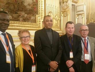 ADEA et les participants au 20ème FORUM EURAFRIC reçus à l'Hôtel de Ville de LYON.