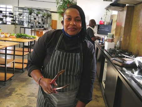 Chefs Of Cape Town - Grenah Magseti