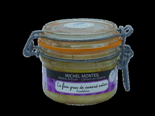 Le foie gras de canard entier 130 gr
