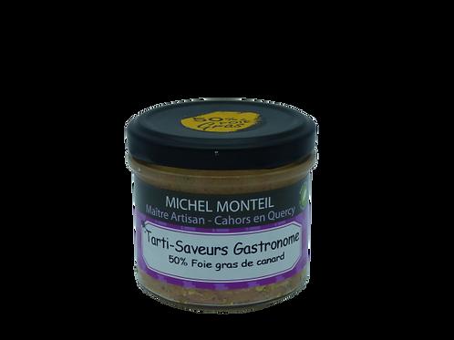 Tarti-Saveurs 50% foie gras et jus de truffe