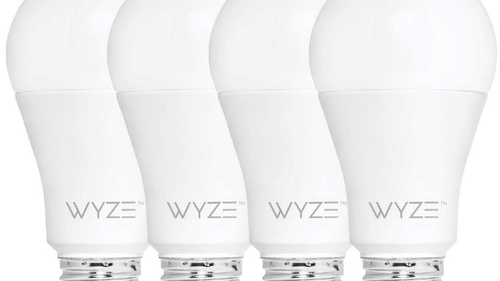 Wyze Smart Bulb (4-Pack)