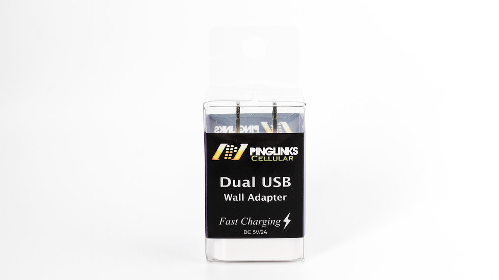 Pinglinks USB Wall Charger Adapter Only Dual Port