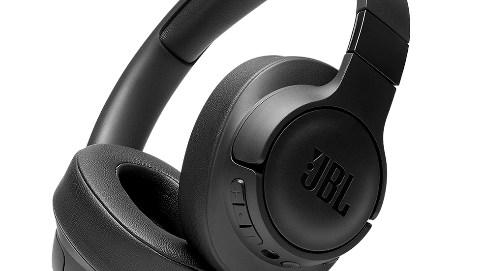 JBL TUNE 750BTNC Wireless Over Ear Noise Cancelling Bluetooth Headphones - Black