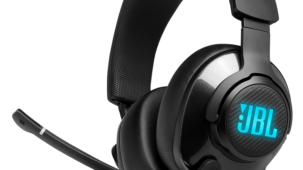 JBL Quantum 400 - Wired Over-Ear Gaming Headphones - Black