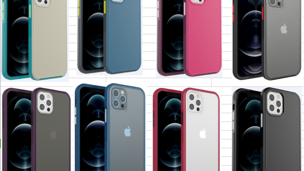 Matte Bumper Case (Available for 12 Mini, 12, 12 Pro & 12 Pro Max)