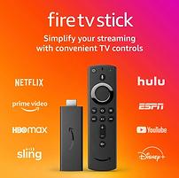 Amazon Fire TV Stick 2020 Release with Alexa Voice Remote (includes TV controls)