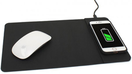 M-Edge Wireless 10W Charging Mouse Pad - BLACK