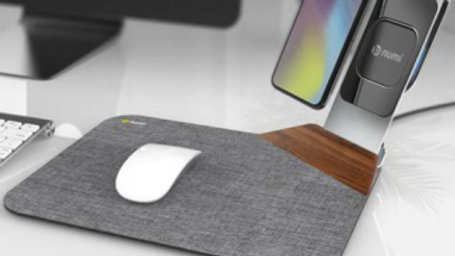 Numi Power Mat Plus Qi Wireless Charging Phone Stand