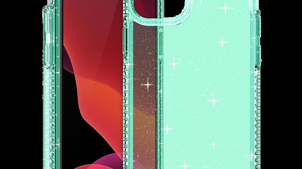 ITSKINS Hybrid Spark Case for Apple iPhone 12 mini - Tiffany Green