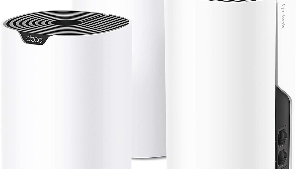 TP Link Deco Whole Home Mesh WiFi System– Up to 5,500 Sq.ft. Coverage, WiFi Rout