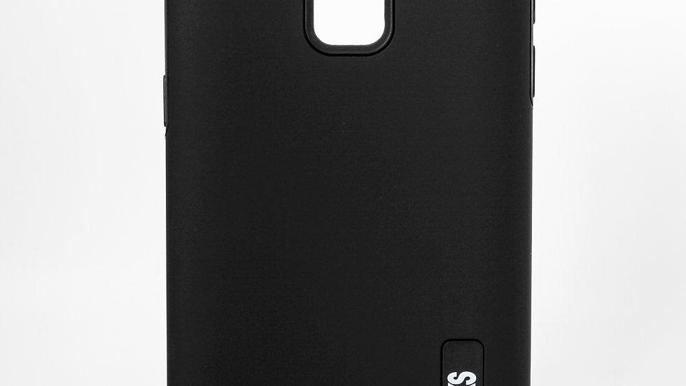 Pinglinks Samsung Galaxy J6 Smooth Case BLACK