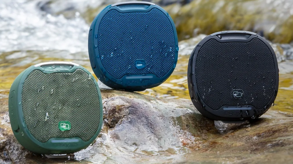 Braven BRV-S Rugged Portable Speaker BLACK
