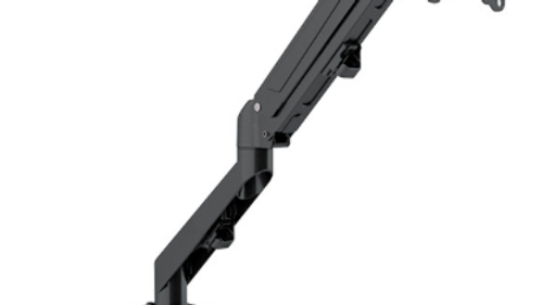 "Klip Xtreme Pneumatic 17-27"" Vesa Compatible Full-Motion Monitor Mount KMM-400"