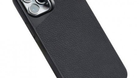 Mous Limitless Case - Black Leather (Avail. for 12 Mini, 12, 12/Pro, 12 Pro Max)
