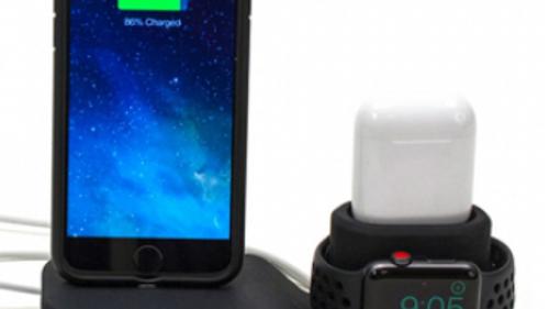 M-Edge Apple Homebase - Cord Management Dock