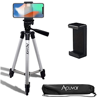 "Acuvar 50"" Inch Aluminum Camera Tripod with Quick Release"
