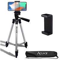 "Acuvar 50"" Inch Aluminum Camera Tripod with Quick Release"