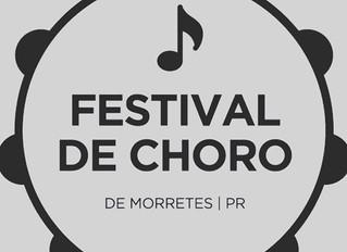 Festival de Choro em Morretes: 8 e 9 de dezembro
