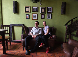 Entrevista com Eliane & Leandro, do Café com Pausa