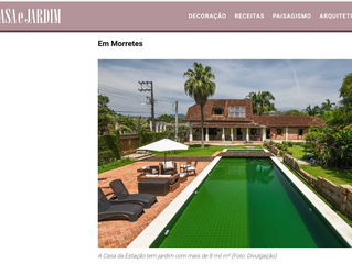 Revista Casa e Jardim recomenda a Casa da Estação