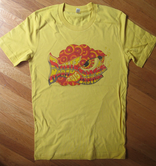 2015 raleigh happy fish shirt