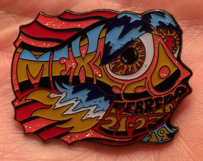2019 mexico happy fish pin