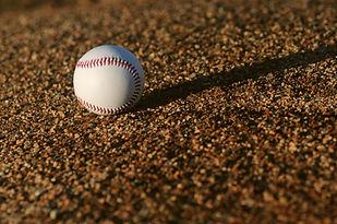 フィールドでの野球