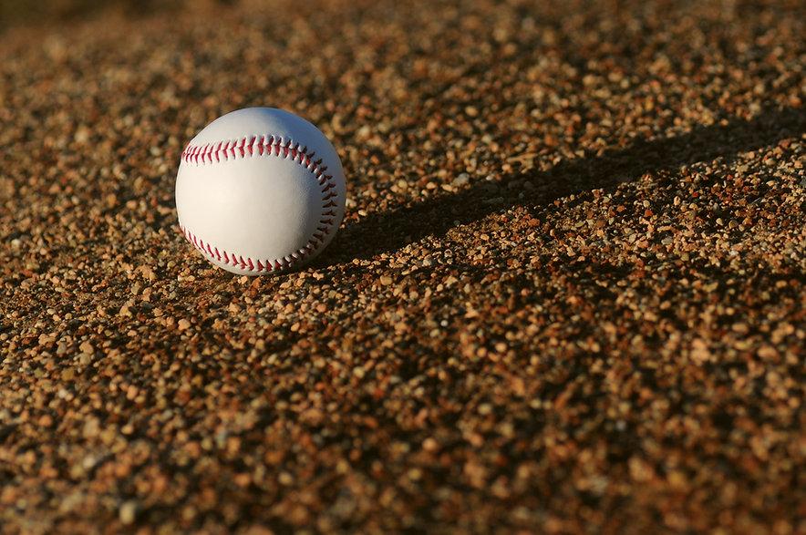Baseball in Field