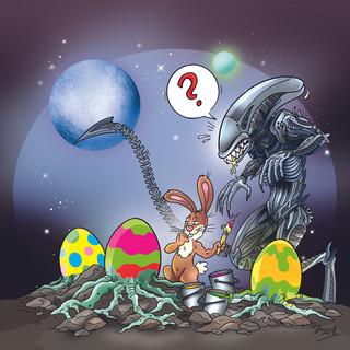 Alien Ostern