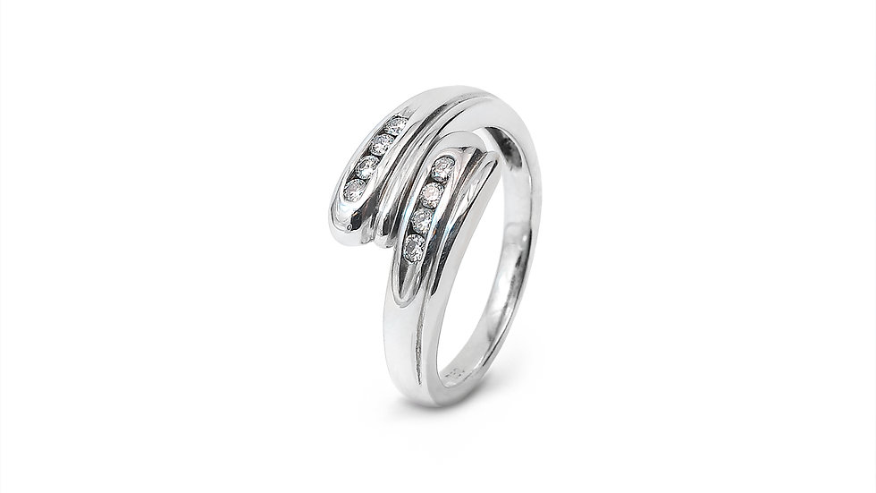 Two Rows Promise Ring