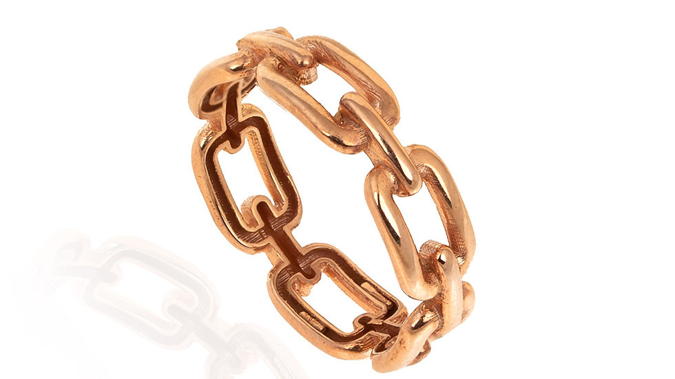 Rose Gold linked style Ring