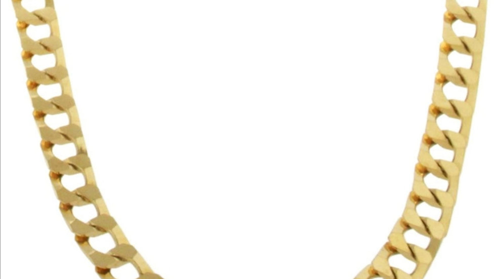 Yellow Gold Heavy Curb Chain