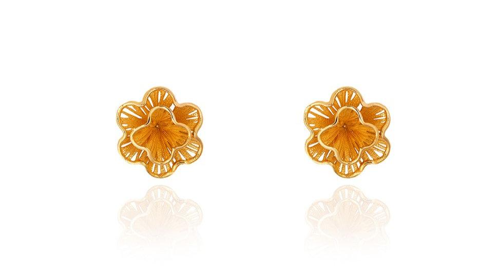 Fusion Flower Earrings