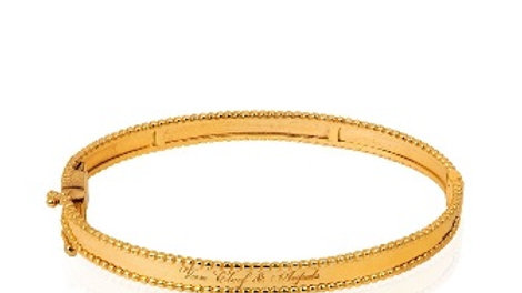 Yellow Gold Bangle Bracelet