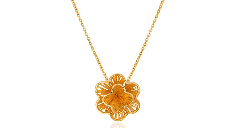 Fusion Flower Necklace
