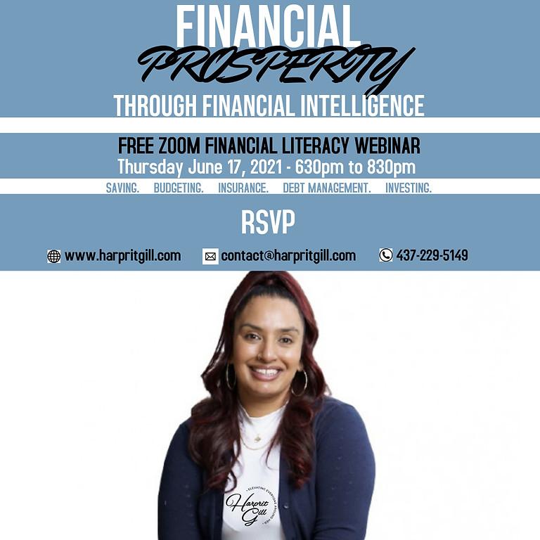 Financial Intelligence Webinar