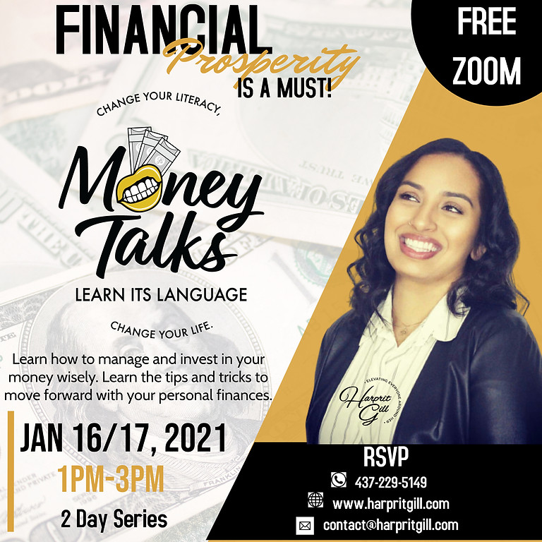 MONEY TALKS 2 DAYS SERIES