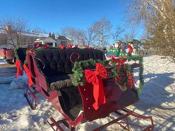 Cutter Sleigh, Merry Christmas