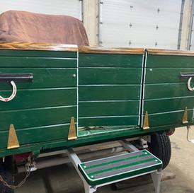 Green Wagon Rear Entry