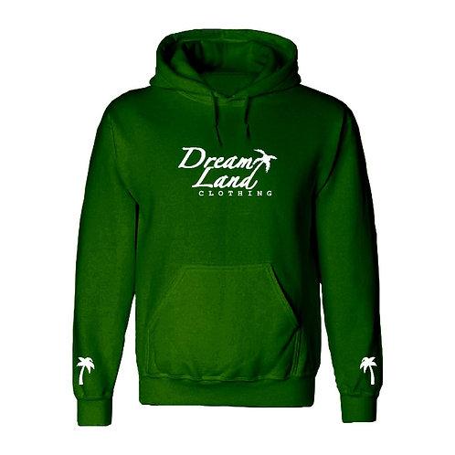 DLC Fleece Hoodie Forest Green