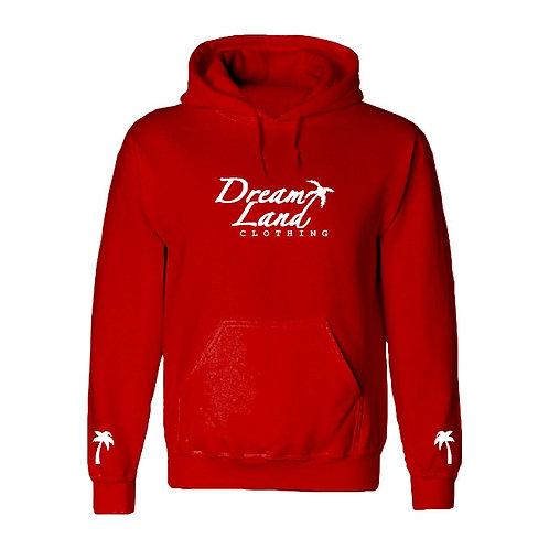 DLC Fleece Hoodie Red Valentine