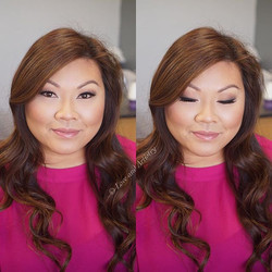 Bridal Airbrush Makeup Trial 🎀 __kettcosmetics airbrush foundation__lagirlcosmetics beautiful bronz