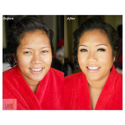 Bridal Hair & Makeup_Enhanced & defined eyes while perfecting the skin and adding subtle highlights
