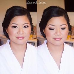 Bridal Hair + Airbrush Makeup Design ✨✨_