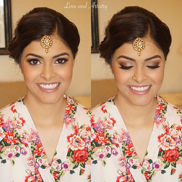 ✨Congrats to my gorgeous bride today! ✨_.___ Airbrush Makeup Design __ ._